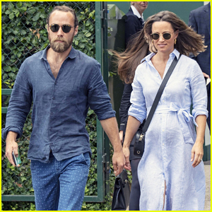 Pregnant Pippa Middleton & Brother James Hit Up Wimbledon Championships for Another Round!