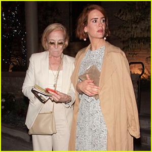 Sarah Paulson & Holland Taylor See 'Skeleton Crew' in Los Angeles!