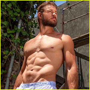 Trevor Donovan Shows Off His Buff Bod in Shirtless Poolside Photo Shoot!