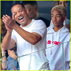 Will Smith & Son Jaden Team Up for World Cup 2018 Final!