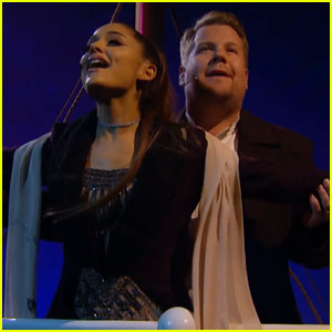 Ariana Grande Performs 'Titanic' Soundtrack & Sounds Just Like Celine Dion - Watch Now!