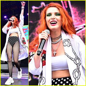 Bella Thorne Brings Filthy Fangs Records to Billboard's Hot 100 Fest