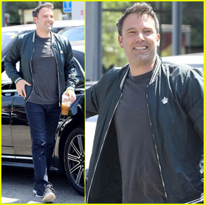 Ben Affleck Celebrates His 46th Birthday With A New Car!