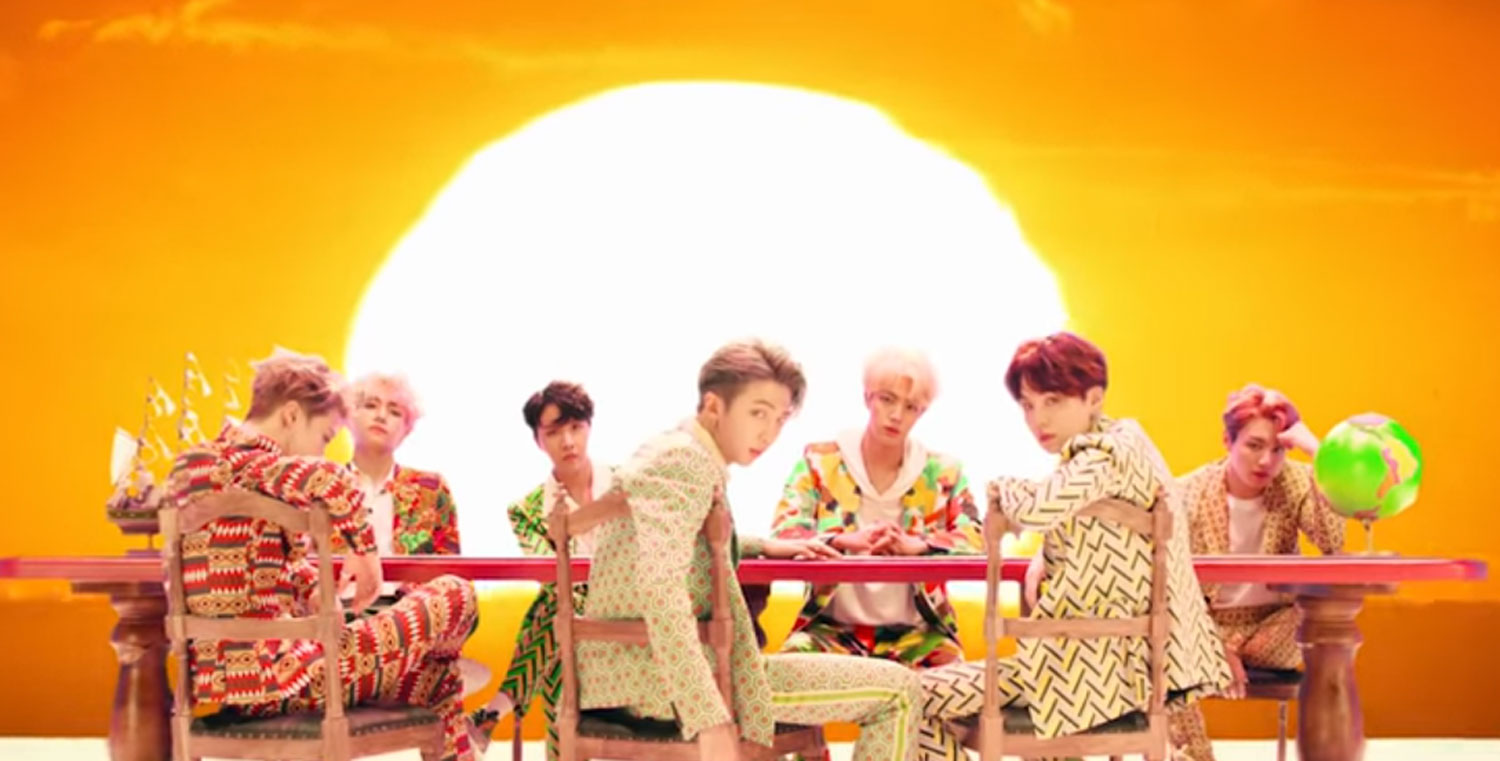 BTS Drops Colorful 'Idol' Music Video – Watch Now! | BTS ...