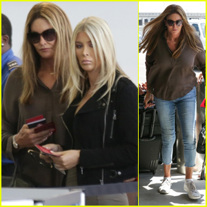 Caitlyn Jenner & Sophia Hutchins Grab Lunch & Head Out of LA!