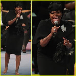 Fantasia Barrino Performs 'Precious Lord' at Aretha Franklin's Funeral - Watch Now