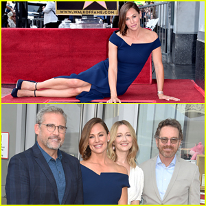 Jennifer Garner Receives Star on Hollywood Walk of Fame with Family & Co-Stars By Her!