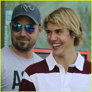 Justin bieber photos news and videos just jared justin bieber has a new baby sister meet bay bieber jeremy biebers new daughter stopboris Image collections