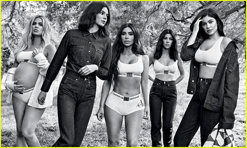 Khloe Kardashian Models for Calvin Klein While 8 Months Pregnant - See All the Kardashian/Jenner Campaign Photos!