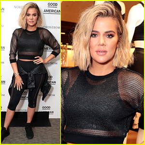 Khloe Kardashian Hosts a Workout Class in Seattle for Good American Activewear Launch