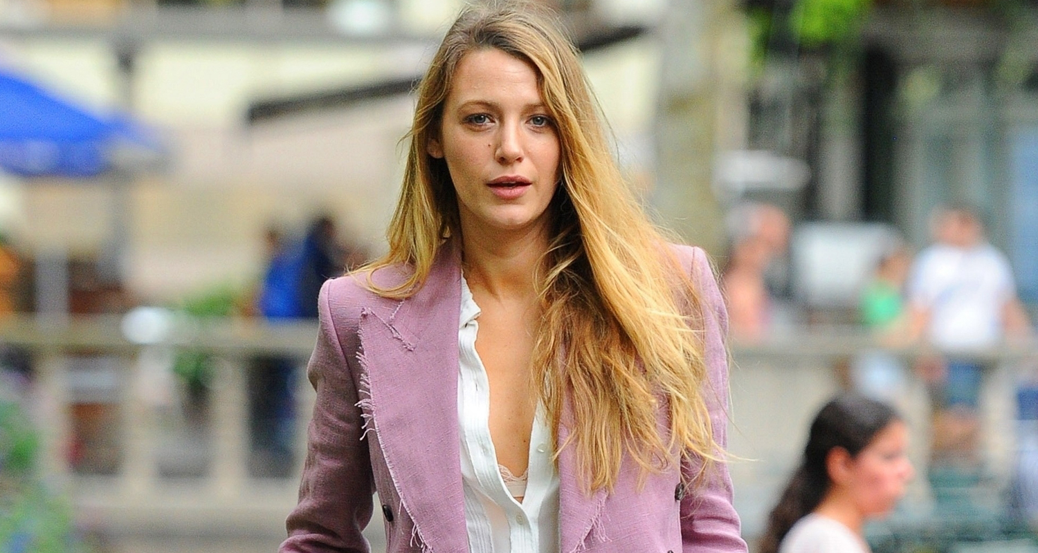 Blake Lively Steps Out In NYC Ahead Of MTV VMAs 2018 Blake Lively Just Jared