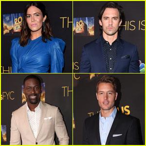 Mandy Moore, Milo Ventimiglia & 'This Is Us' Cast Reunite at FYC Event!