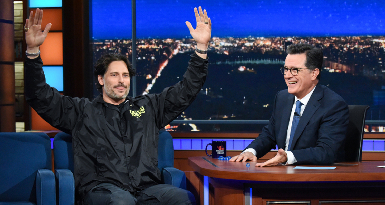 Joe Manganiello Amp Stephen Colbert Discuss Dungeons