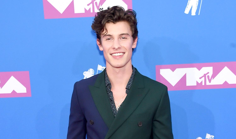 Shawn Mendes Wears Dual Colored Blazer To Mtv Vmas 2018