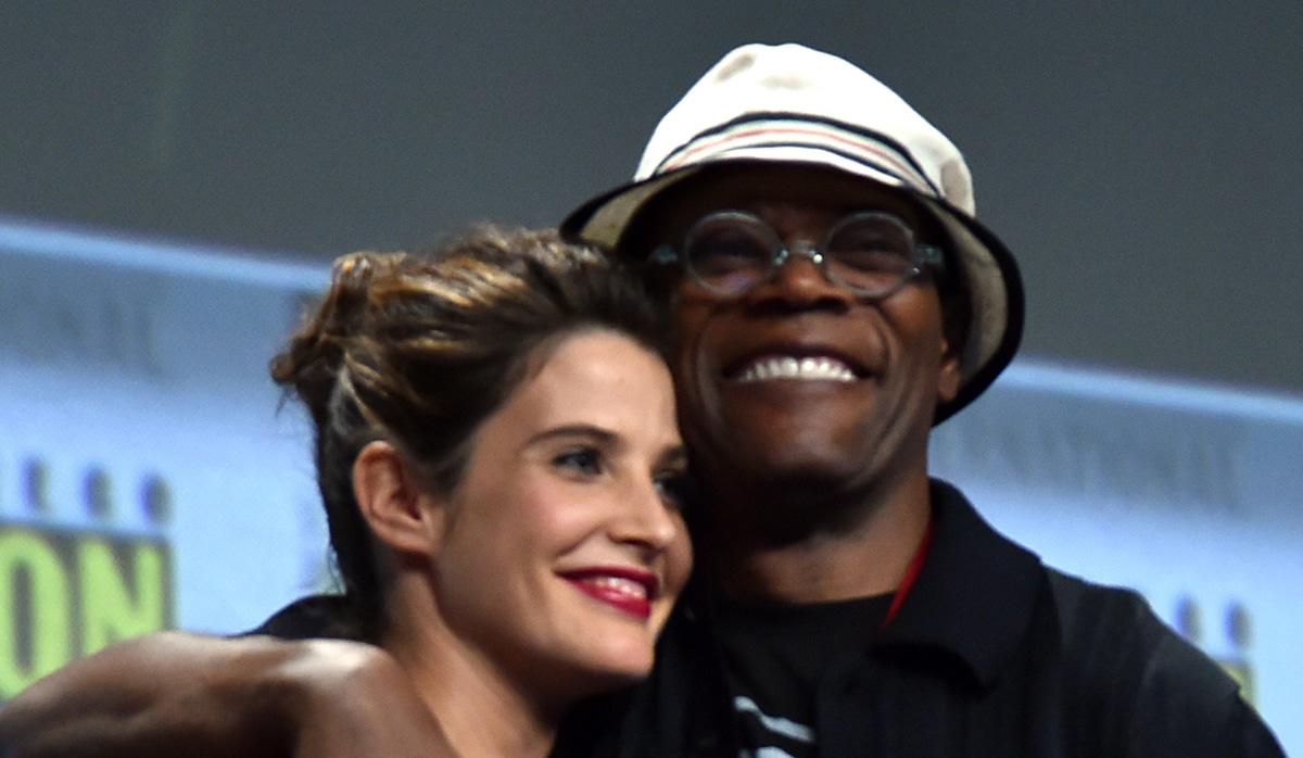 Image result for Samuel L. Jackson & Cobie Smulders