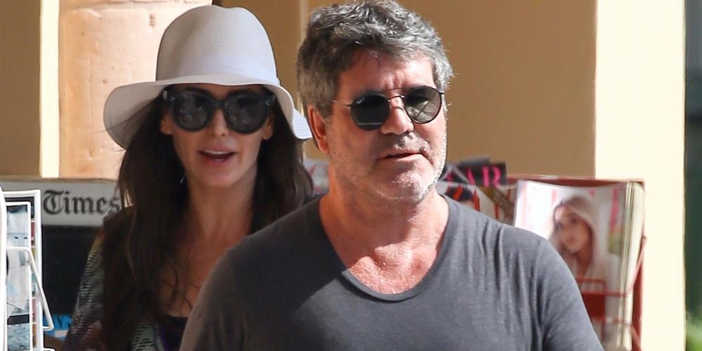 Simon Cowell & Lauren Silverman Get Frozen Yogurt in Malibu!