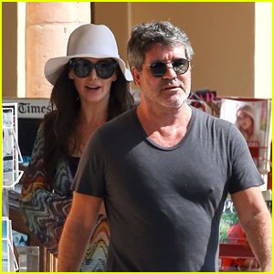 Simon Cowell & Lauren Silverman Get Frozen Yogurt in Malibu!