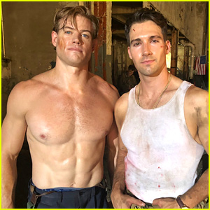 Trevor Donovan Films 'Wolf Hound'- See Exclusive Pics From the Set!