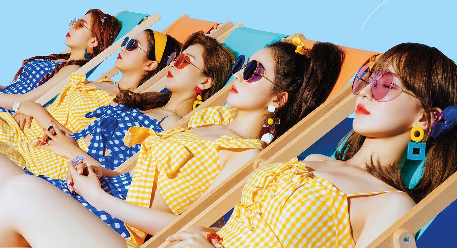 Red Velvet Power Up