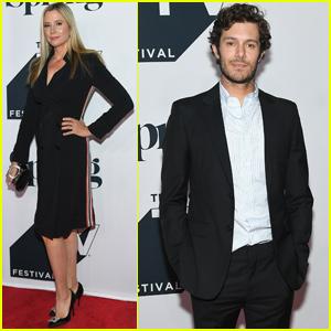 Adam Brody & Mira Sorvino Premiere 'Startup' Season 3 at Tribeca TV Fest