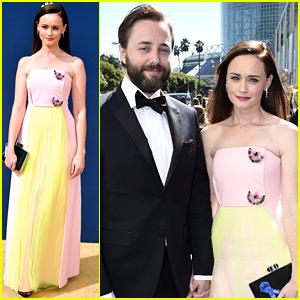 Alexis Bledel & Husband Vincent Kartheiser Make Rare Appearance at Emmys 2018!