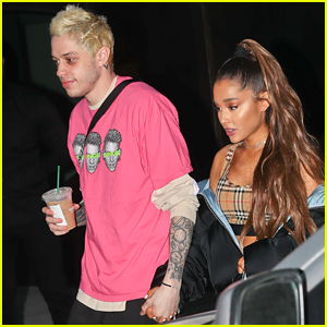 Pete Davidson & Ariana Grande Just Got Matching Tattoos Again