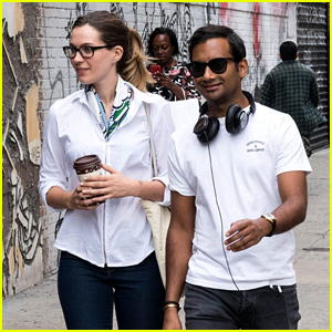Aziz Ansari Steps Out with Girlfriend Serena Campbell in NYC