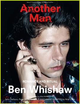 Ben Whishaw Covers 'Another Man's Romance & Ritual Issue