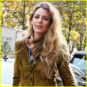 Blake Lively Responds to a Joke About the Suits She's Wearing
