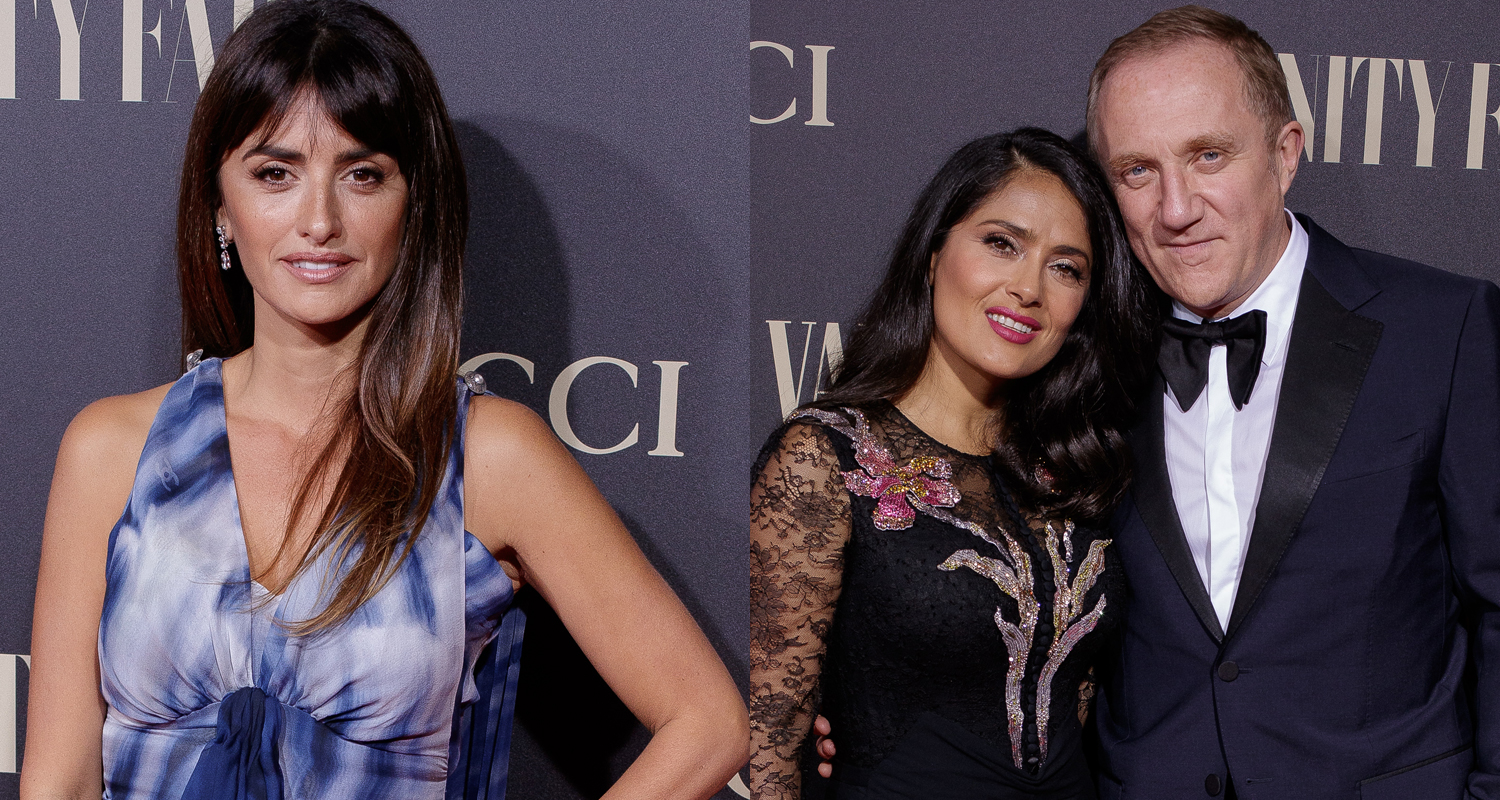 5d4d9d75cb Penelope Cruz   Salma Hayek Step Out for Vanity Fair s Personality of the  Year Awards in Madrid!