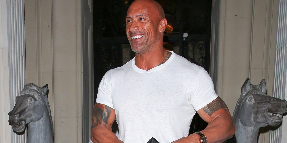 Dwayne Johnson Gives The Valet A  Tip In Beverly Hills