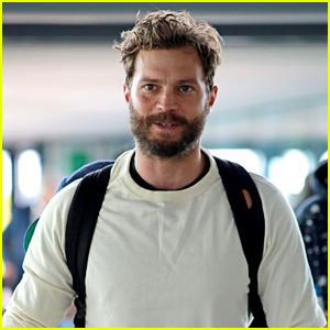 Jamie Dornan Sports Bushy Beard While Out in London