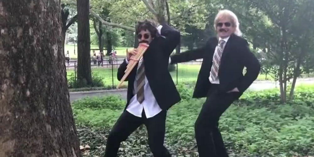 Justin Bieber & Jimmy Fallon Dance in Disguise in Central Park – Watch!