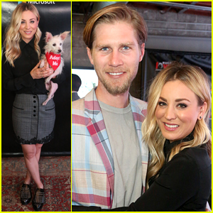 Kaley Cuoco & Husband Karl Cook Help Raise Awareness for Foster Dogs in Need!