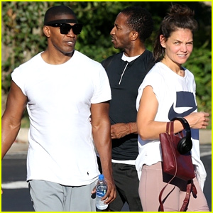 Katie Holmes & Jamie Foxx Work Out Together in Atlanta!