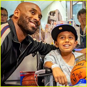 Kobe Bryant Surprises Kids at Children's Hospital of Orange County!
