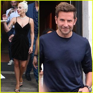 Lady Gaga & Bradley Cooper Step Out in Venice After 'A Star is Born' Premiere