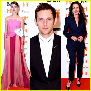 Margaret Qualley Gets Mom Andie MacDowell's Support at 'Donnybrook' TIFF Premiere!