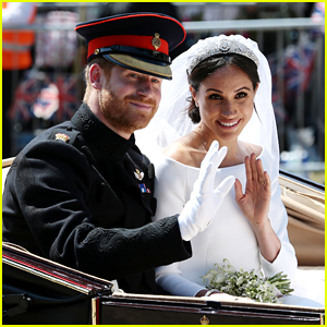 Duchess Meghan Markle's Wedding Veil Honored Prince Harry in a Super Romantic Way!