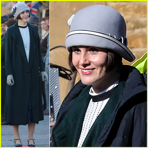 Michelle Dockery Begins Filming 'Downton Abbey' Movie - First Set Photos!