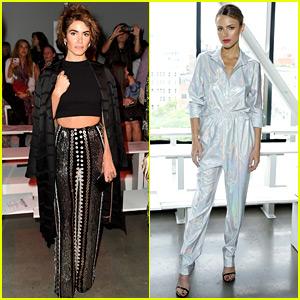 Nikki Reed & Halston Sage Are Having Fashion Week Fun!