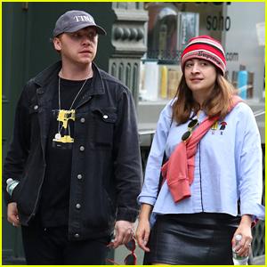 Rupert Grint & Girlfriend Georgia Groome Go Shopping in NYC!