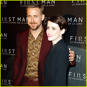 Ryan Gosling & Claire Foy Join Their Newly-Married Director & Co-Star at 'First Man' Premiere!