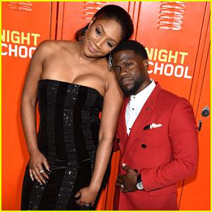 Tiffany Haddish & Kevin Hart Keep Close at 'Night School' Premiere in LA