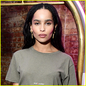 Zoe Kravitz Reveals She Got An Unwanted Kiss From This Singer