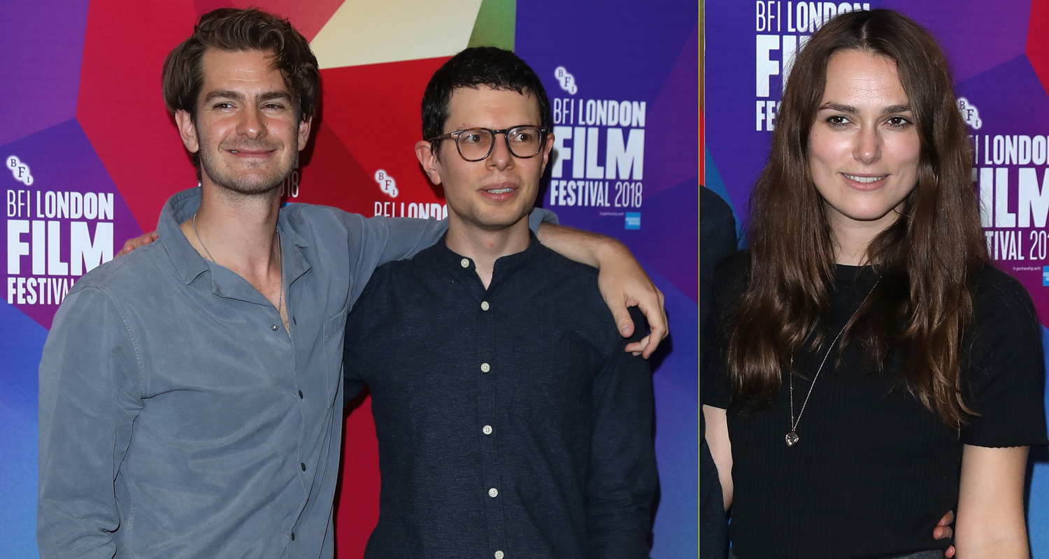 Andrew Garfield Amp Keira Knightley Support Simon Amstell At Benjamin Premiere Andrew Garfield