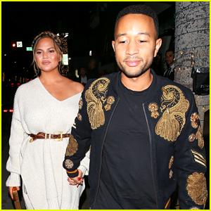 Chrissy Teigen & John Legend Enjoy a Date Night Together in Beverly Hills!