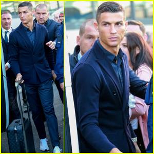 Cristiano Ronaldo Enjoys Family Time Ahead of Champions League Match