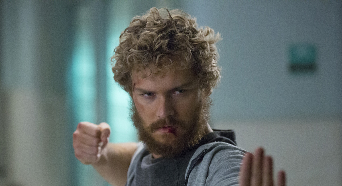 finn jones reacts to iron fist cancellation finn jones iron fist just jared. Black Bedroom Furniture Sets. Home Design Ideas
