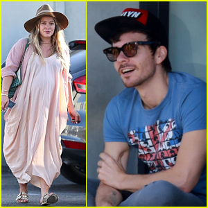 Hilary Duff & Matthew Koma Step Out Separately Ahead of Daughter's Birth!